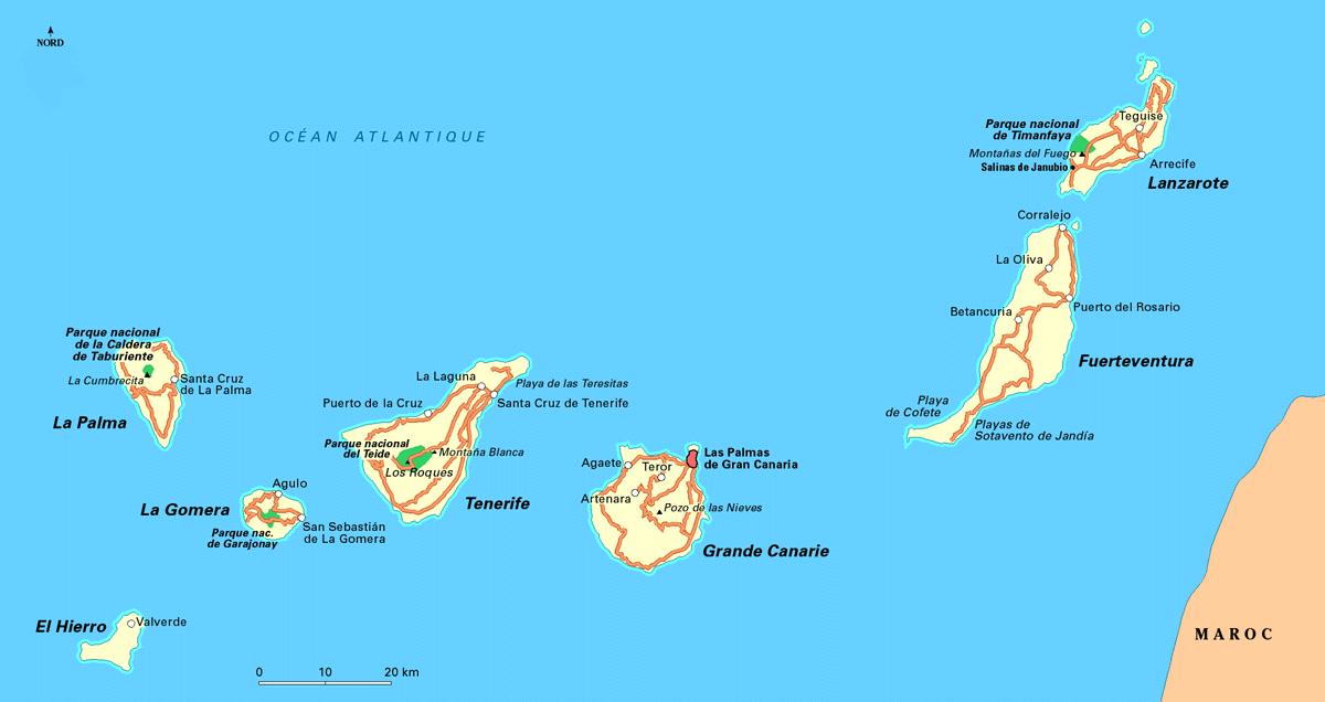 Cartina Geografica Spagna E Isole.Isole Della Spagna Hotelspagna Net