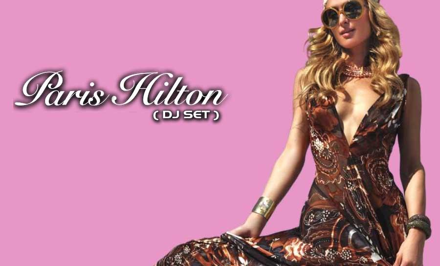 Dj Set Paris Hilton al Tropics