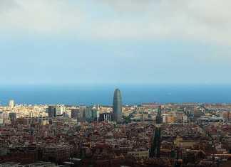 Vista di Barcellona