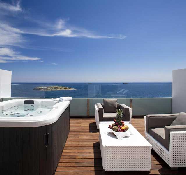 Esterno della suite - Boutique hotel a Ibiza